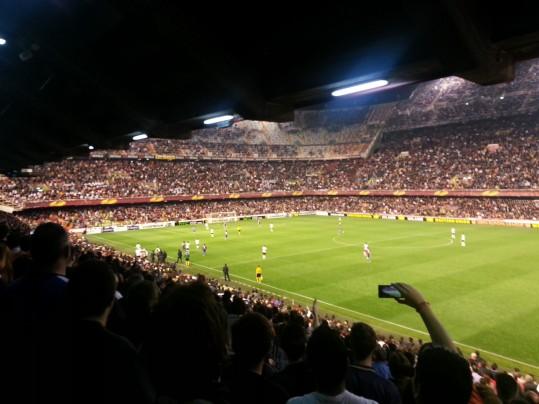 Valencia - Estadio de Mestalla