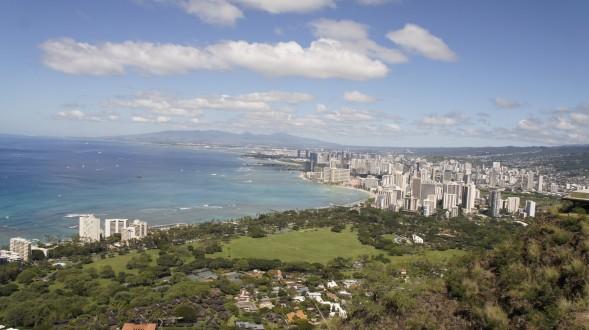 Honolulu - Waikiki beach