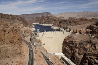 Hoover Dam - Border between Nevada and Arizona